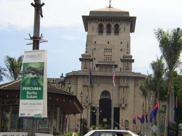 スルタン・イブラヒム・ビルディング(Sultan Ibrahim Building)の外観